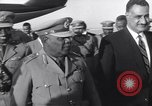 Image of Gen Ibrahim Abboud and King Hussein I Cairo Egypt, 1962, second 15 stock footage video 65675022135