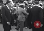 Image of Gen Ibrahim Abboud and King Hussein I Cairo Egypt, 1962, second 39 stock footage video 65675022135