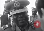 Image of Gen Ibrahim Abboud and King Hussein I Cairo Egypt, 1962, second 42 stock footage video 65675022135