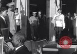 Image of Gen Ibrahim Abboud and King Hussein I Cairo Egypt, 1962, second 49 stock footage video 65675022135