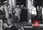 Image of Gen Ibrahim Abboud and King Hussein I Cairo Egypt, 1962, second 50 stock footage video 65675022135