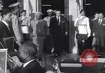 Image of Gen Ibrahim Abboud and King Hussein I Cairo Egypt, 1962, second 51 stock footage video 65675022135