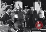 Image of Gen Ibrahim Abboud and King Hussein I Cairo Egypt, 1962, second 52 stock footage video 65675022135
