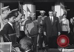 Image of Gen Ibrahim Abboud and King Hussein I Cairo Egypt, 1962, second 53 stock footage video 65675022135