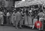 Image of Gen Ibrahim Abboud and King Hussein I Cairo Egypt, 1962, second 55 stock footage video 65675022135