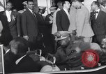 Image of Gen Ibrahim Abboud and King Hussein I Cairo Egypt, 1962, second 57 stock footage video 65675022135