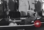 Image of Gen Ibrahim Abboud and King Hussein I Cairo Egypt, 1962, second 58 stock footage video 65675022135