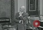 Image of President Dwight D Eisenhower Washington DC USA, 1953, second 6 stock footage video 65675022149