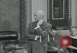 Image of President Dwight D Eisenhower Washington DC USA, 1953, second 8 stock footage video 65675022149