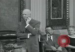 Image of President Dwight D Eisenhower Washington DC USA, 1953, second 16 stock footage video 65675022149