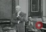 Image of President Dwight D Eisenhower Washington DC USA, 1953, second 18 stock footage video 65675022149
