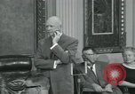 Image of President Dwight D Eisenhower Washington DC USA, 1953, second 19 stock footage video 65675022149