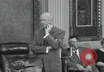 Image of President Dwight D Eisenhower Washington DC USA, 1953, second 21 stock footage video 65675022149