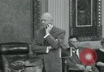 Image of President Dwight D Eisenhower Washington DC USA, 1953, second 22 stock footage video 65675022149