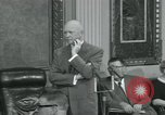 Image of President Dwight D Eisenhower Washington DC USA, 1953, second 23 stock footage video 65675022149