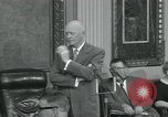Image of President Dwight D Eisenhower Washington DC USA, 1953, second 24 stock footage video 65675022149