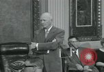 Image of President Dwight D Eisenhower Washington DC USA, 1953, second 25 stock footage video 65675022149