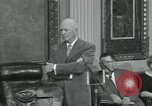 Image of President Dwight D Eisenhower Washington DC USA, 1953, second 26 stock footage video 65675022149