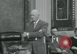 Image of President Dwight D Eisenhower Washington DC USA, 1953, second 27 stock footage video 65675022149