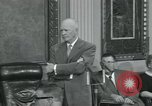 Image of President Dwight D Eisenhower Washington DC USA, 1953, second 28 stock footage video 65675022149