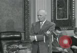 Image of President Dwight D Eisenhower Washington DC USA, 1953, second 30 stock footage video 65675022149