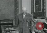 Image of President Dwight D Eisenhower Washington DC USA, 1953, second 31 stock footage video 65675022149