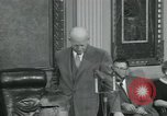 Image of President Dwight D Eisenhower Washington DC USA, 1953, second 32 stock footage video 65675022149