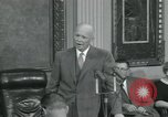Image of President Dwight D Eisenhower Washington DC USA, 1953, second 34 stock footage video 65675022149