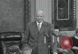 Image of President Dwight D Eisenhower Washington DC USA, 1953, second 36 stock footage video 65675022149