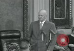 Image of President Dwight D Eisenhower Washington DC USA, 1953, second 37 stock footage video 65675022149