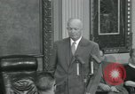 Image of President Dwight D Eisenhower Washington DC USA, 1953, second 38 stock footage video 65675022149