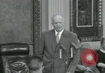 Image of President Dwight D Eisenhower Washington DC USA, 1953, second 39 stock footage video 65675022149