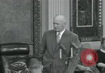 Image of President Dwight D Eisenhower Washington DC USA, 1953, second 41 stock footage video 65675022149