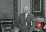 Image of President Dwight D Eisenhower Washington DC USA, 1953, second 43 stock footage video 65675022149