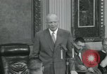 Image of President Dwight D Eisenhower Washington DC USA, 1953, second 46 stock footage video 65675022149