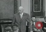 Image of President Dwight D Eisenhower Washington DC USA, 1953, second 48 stock footage video 65675022149