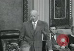 Image of President Dwight D Eisenhower Washington DC USA, 1953, second 49 stock footage video 65675022149