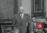 Image of President Dwight D Eisenhower Washington DC USA, 1953, second 50 stock footage video 65675022149