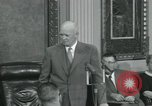 Image of President Dwight D Eisenhower Washington DC USA, 1953, second 51 stock footage video 65675022149