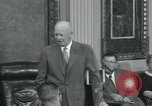 Image of President Dwight D Eisenhower Washington DC USA, 1953, second 53 stock footage video 65675022149