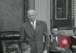Image of President Dwight D Eisenhower Washington DC USA, 1953, second 54 stock footage video 65675022149