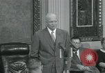 Image of President Dwight D Eisenhower Washington DC USA, 1953, second 55 stock footage video 65675022149
