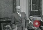 Image of President Dwight D Eisenhower Washington DC USA, 1953, second 56 stock footage video 65675022149