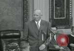 Image of President Dwight D Eisenhower Washington DC USA, 1953, second 57 stock footage video 65675022149
