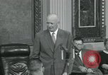 Image of President Dwight D Eisenhower Washington DC USA, 1953, second 59 stock footage video 65675022149