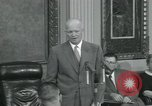 Image of President Dwight D Eisenhower Washington DC USA, 1953, second 60 stock footage video 65675022149