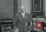 Image of President Dwight D Eisenhower Washington DC USA, 1953, second 61 stock footage video 65675022149