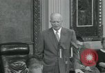 Image of President Dwight D Eisenhower Washington DC USA, 1953, second 62 stock footage video 65675022149