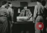 Image of Instructor demonstrating models of rifles Quantico Virginia USA, 1942, second 24 stock footage video 65675022167