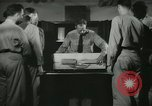 Image of Instructor demonstrating models of rifles Quantico Virginia USA, 1942, second 42 stock footage video 65675022167